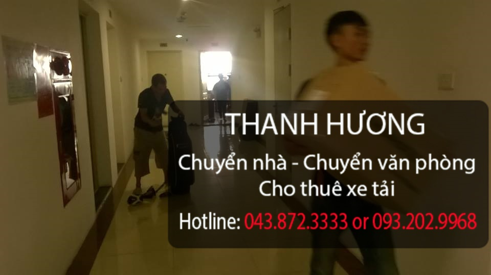 Dịch vụ chuyển văn phòng tại phố Hồ Xuân Hương