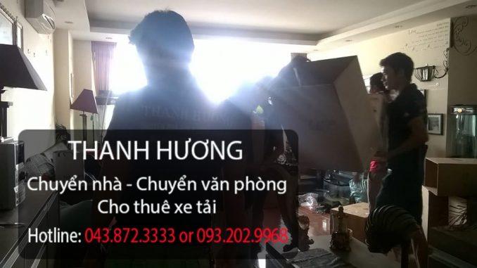 Thanh Hương chuyển văn phòng trọn gói tại phố Nguyễn Đình Chiểu