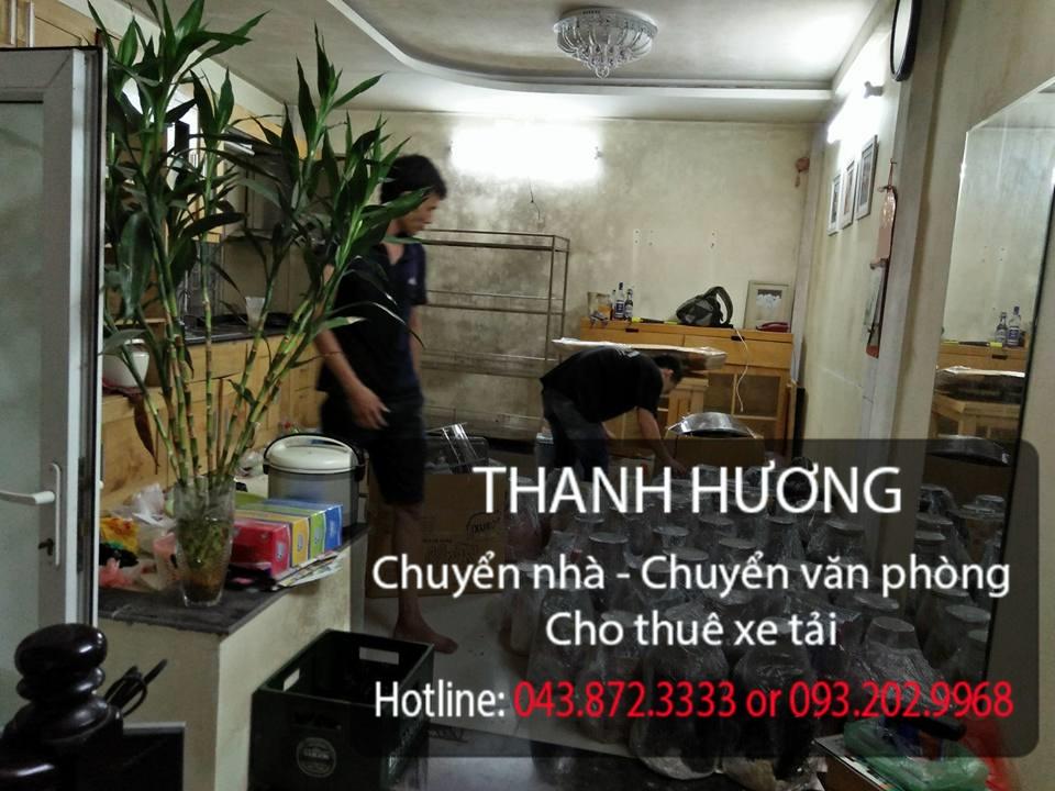 Thanh Hương dịch vụ chuyển văn phòng trọn gói tại phố Nguyễn Bỉnh Khiêm