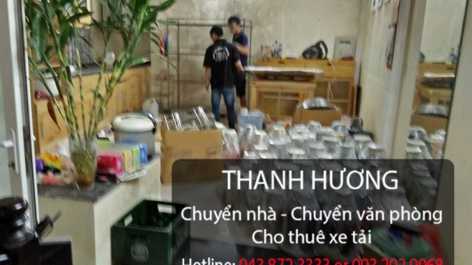 Chuyển văn phòng trọn gói Thanh Hương tại phố Yên Bái