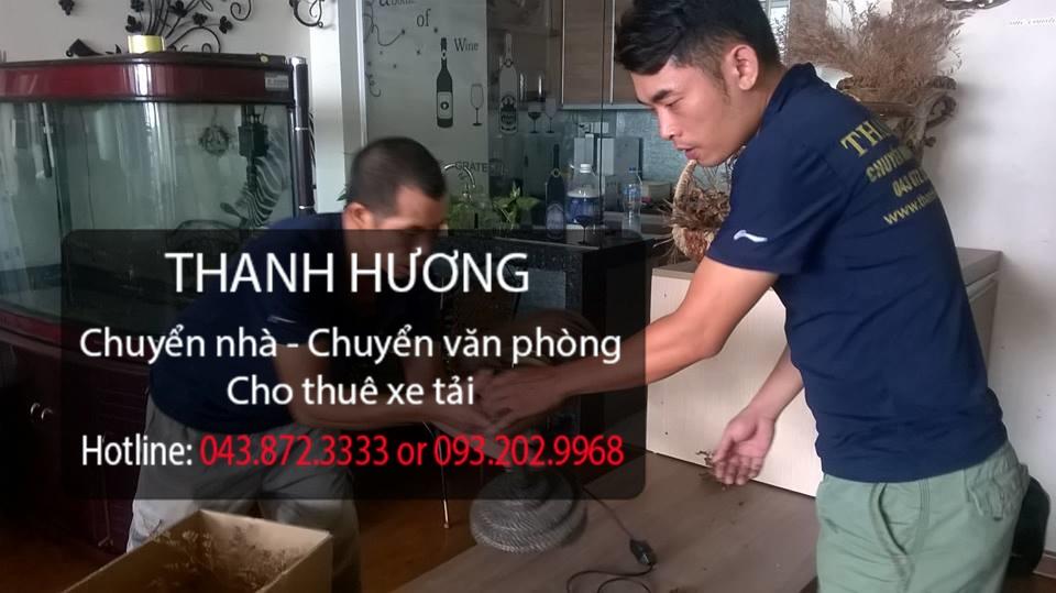 Thanh Hương cung cấp dịch vụ chuyển văn phòng tại phố Hồ Xuân Hương