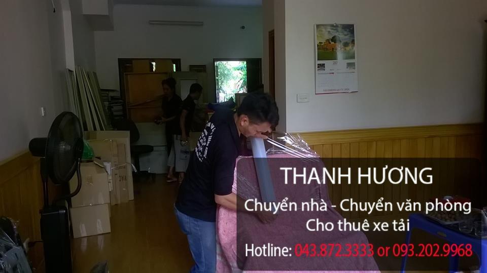 Thanh Hương dịch vụ chuyển văn phòng chuyên nghiệp tại phố Nguyễn Bỉnh Khiêm