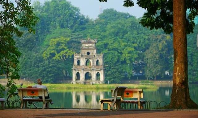 Hồ Gươm quận Hoàn Kiếm