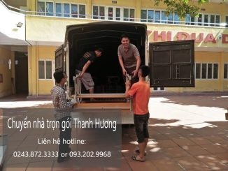 Chuyển nhà trọn gói nhanh chóng tại phố Châu Long