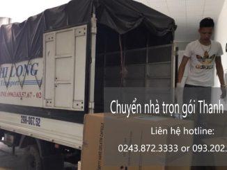 Chuyển văn phòng giá rẻ tại phố Lạc Chính