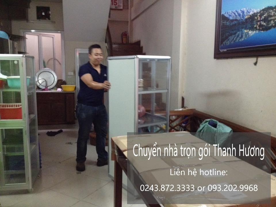Dịch vụ chuyển văn phòng giá rẻ Thanh Hương tại phố Nguyễn Chánh