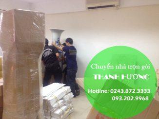 Chuyển văn phòng giá rẻ tại phố Trần Quang Diệu