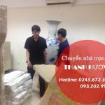 Cho thuê xe tải giá rẻ Thanh Hương tại khu đô thị Ecopark