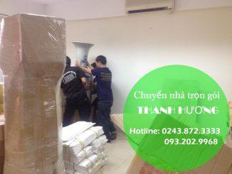 Dịch vụ chuyển văn phòng giá rẻ tại phố Võ Chí Công