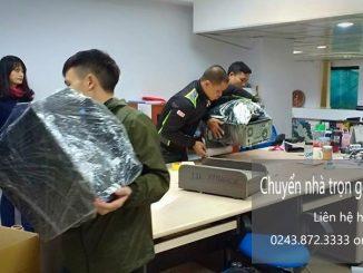 Dịch vụ chuyển nhà trọn gói giá rẻ tại phố Mạc Thái Tổ