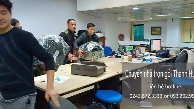 Dịch vụ chuyển văn phòng giá rẻ tại phố Tôn Thất Đàm