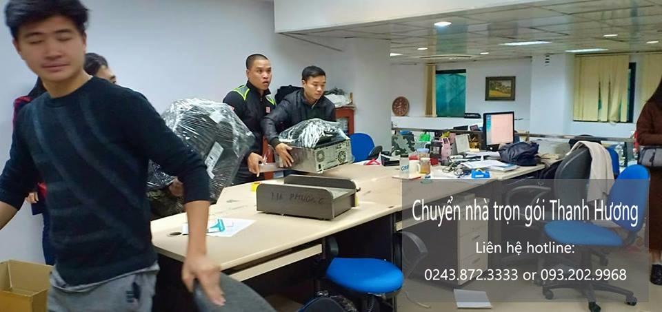 Dịch vụ chuyển văn phòng giá rẻ tại phố Hà Huy Tập