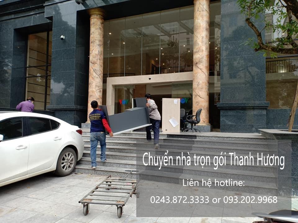 Chuyển văn phòng trọn gói tại phố Đào Tấn
