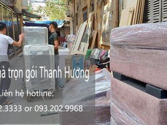 Dịch vụ chuyển văn phòng giá rẻ tại phố Đinh Công Tráng