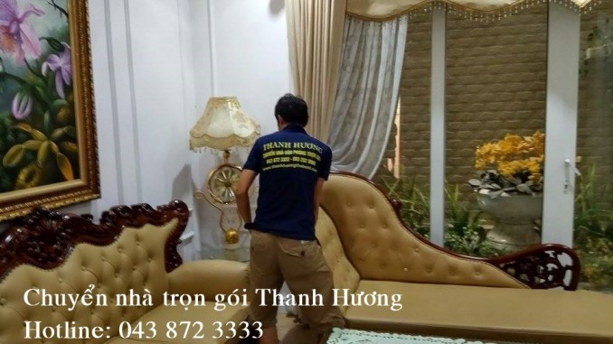 Chuyển nhà trọn gói tại phố Phùng Chí Kiên