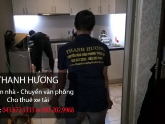 Chuyển văn phòng giá rẻ Thanh Hương tại phố Hàng Bài
