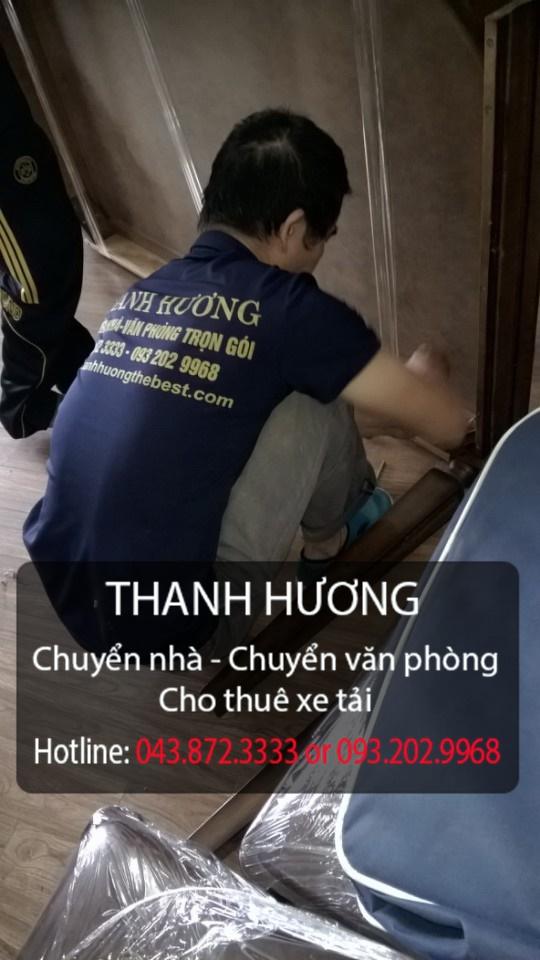 Thanh Hương chuyển văn phòng giá rẻ tại phố Việt Hưng