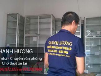 Chuyển văn phòng trọn gói giá rẻ Thanh Hương tại đường Thanh Bình