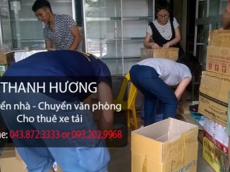 Chuyển văn phòng trọn gói chuyên nghiệp Thanh Hương tại phố Trần Hòa