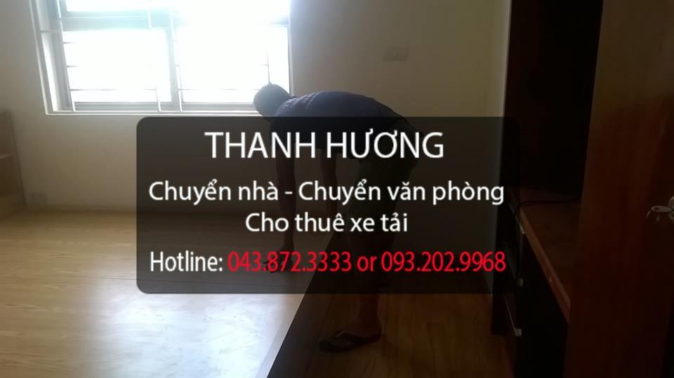 Thanh Hương dịch vụ chuyển văn phòng trọn gói tại phố Đoàn Khuê