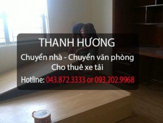 Thanh Hương chuyển văn phòng trọn gói giá rẻ tại phố Phan Chu Trinh