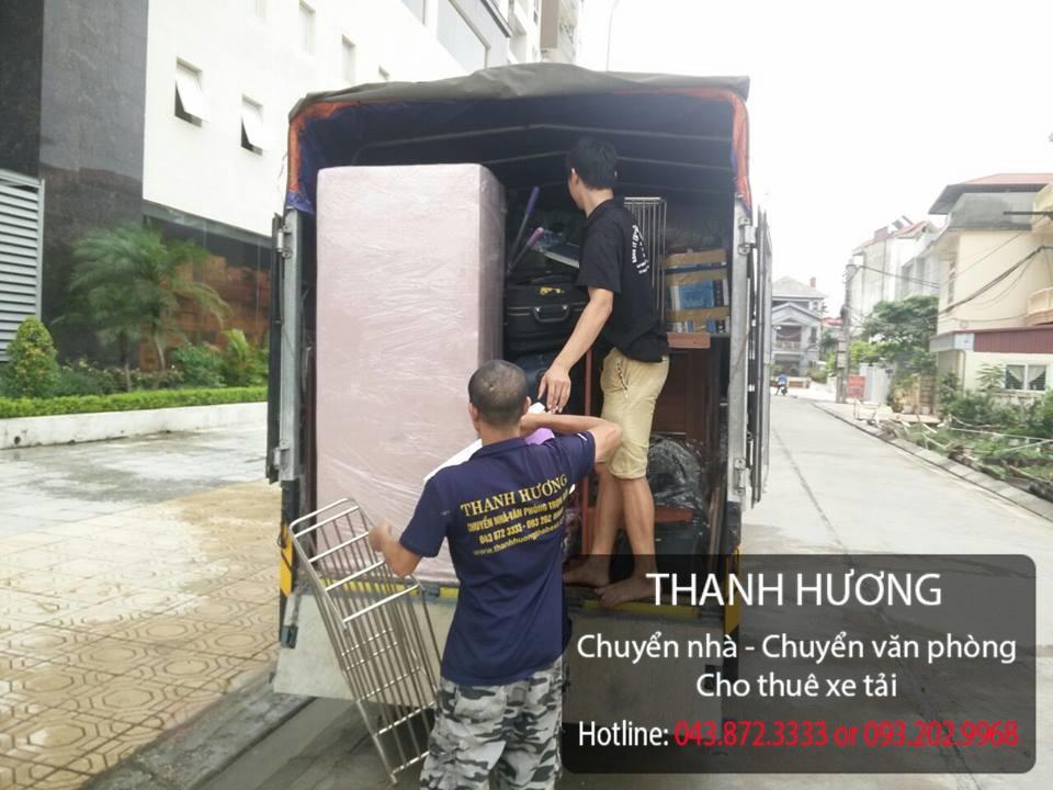 Thanh Hương dịch vụ chuyển văn phòng trọn gói uy tín tại phố Lê Duẩn