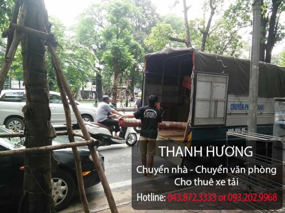 Dịch vụ chuyển văn phòng Thanh Hương tại phố Lê Duẩn