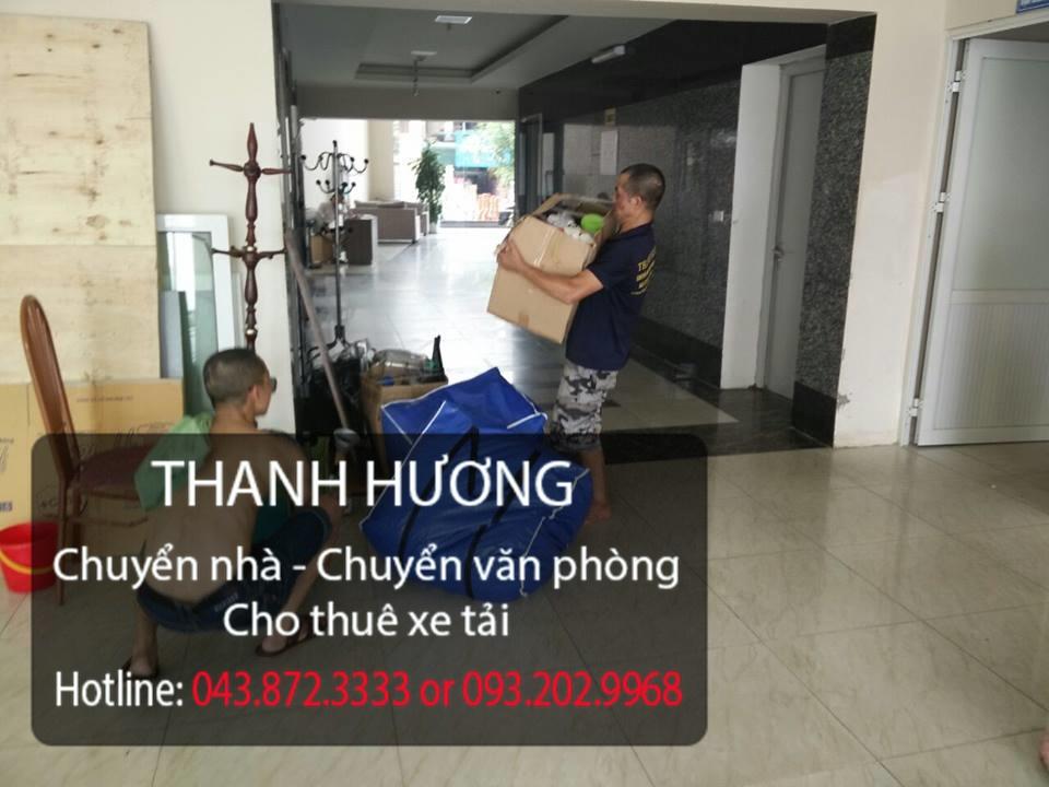 Dịch vụ chuyển văn phòng trọn gói tại phố Tô Hiến Thành