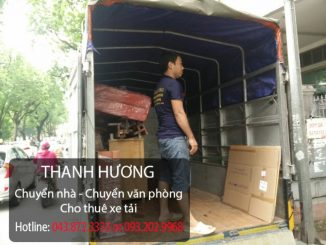 Dịch vụ chuyển văn phòng chuyên nghiệp số 1 tại Hàng Trống Thanh Hương