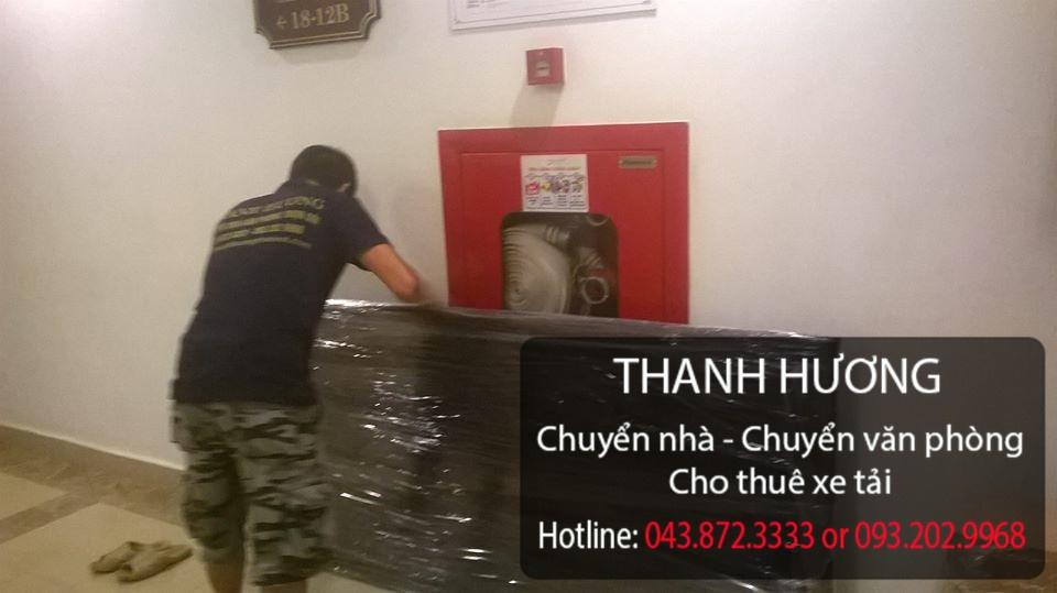 Thanh Hương dịch vụ chuyển văn phòng tại phố Nguyễn Công Trứ