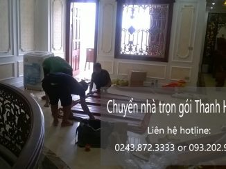 Chuyển văn phòng tại phố Hồng Tiến