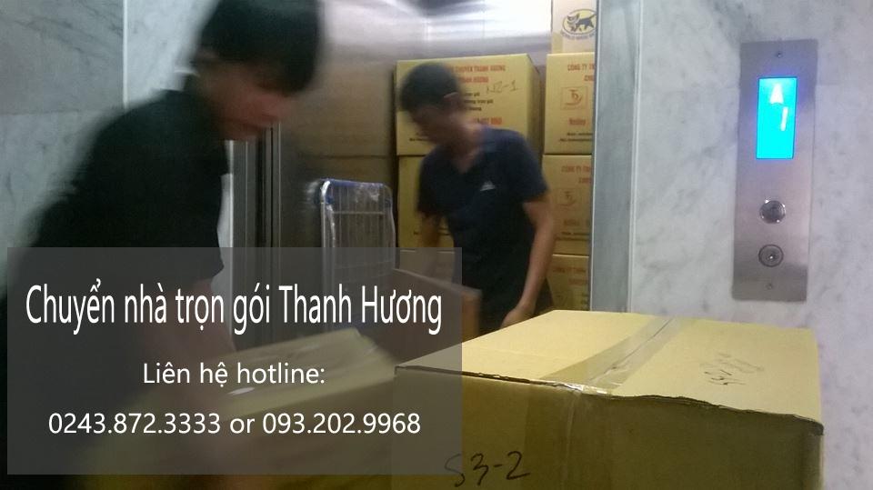 Dịch vụ chuyển văn phòng Thanh Hương tại phố Trần Quốc Toản