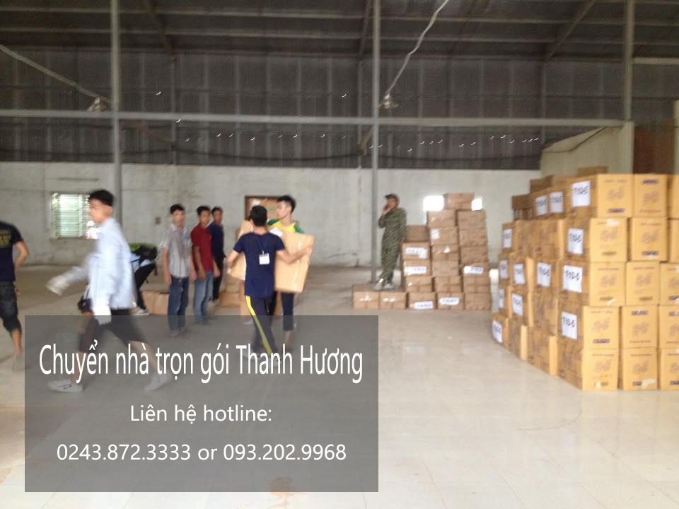 Dịch vụ chuyển văn phòng giá rẻ tại phố Vũ Xuân Thiều-093.202.9968