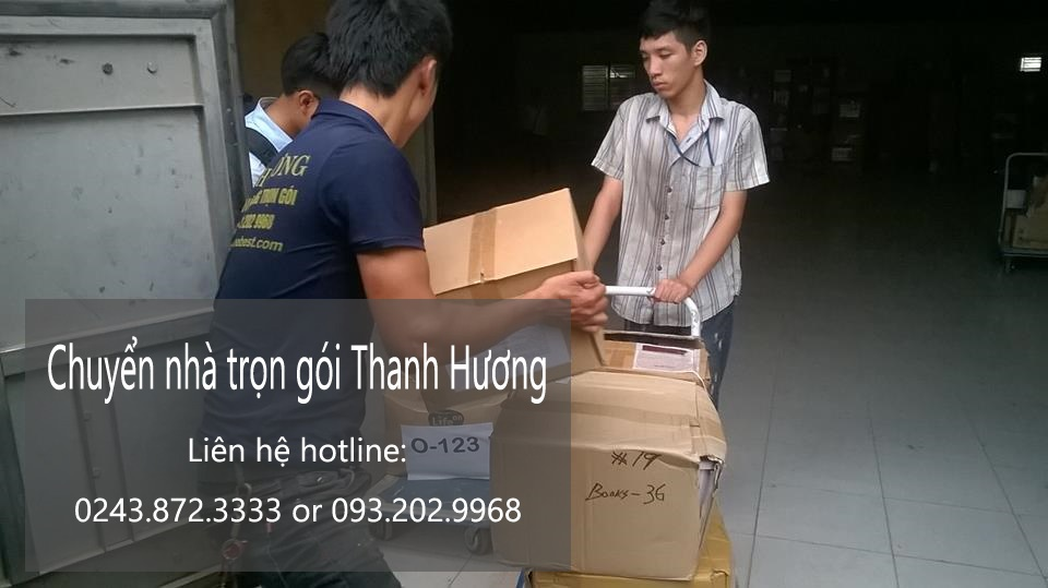 Dịch vụ chuyển văn phòng giá rẻ tại phố Nguyễn Thị Thập