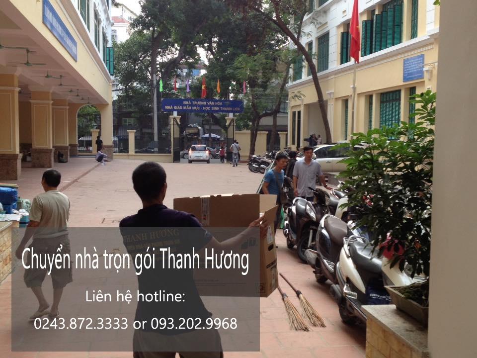 Dịch vụ chuyển văn phòng giá rẻ tại phố Vĩnh Hồ