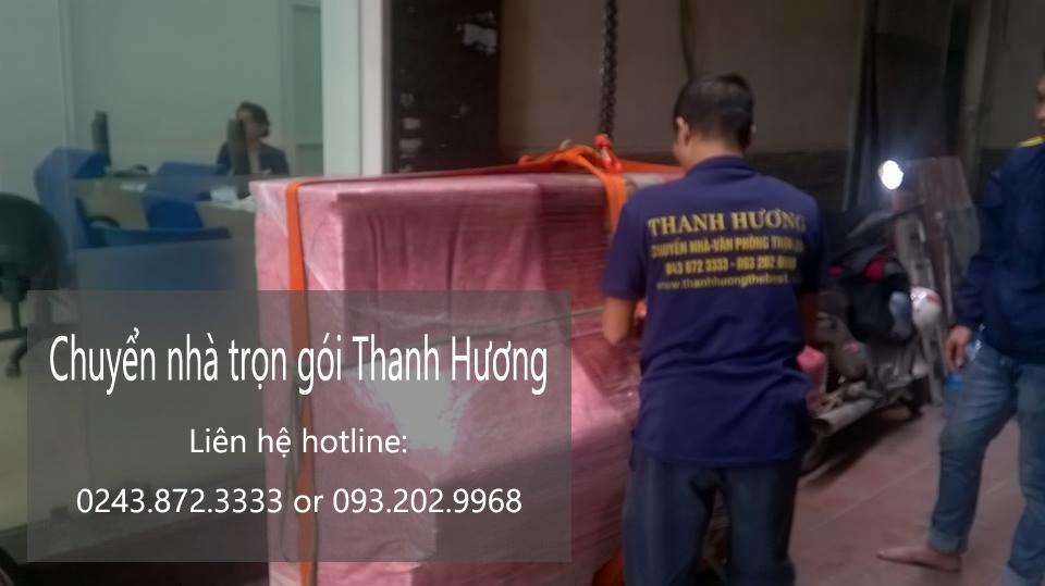 Chuyển văn phòng trọn gói giá rẻ tại phố Thanh Yên