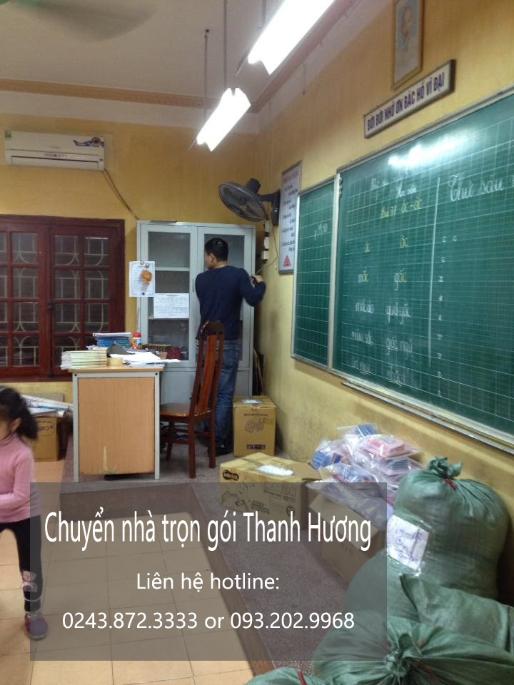 Chuyển văn phòng giá rẻ tại phố Thanh Bình