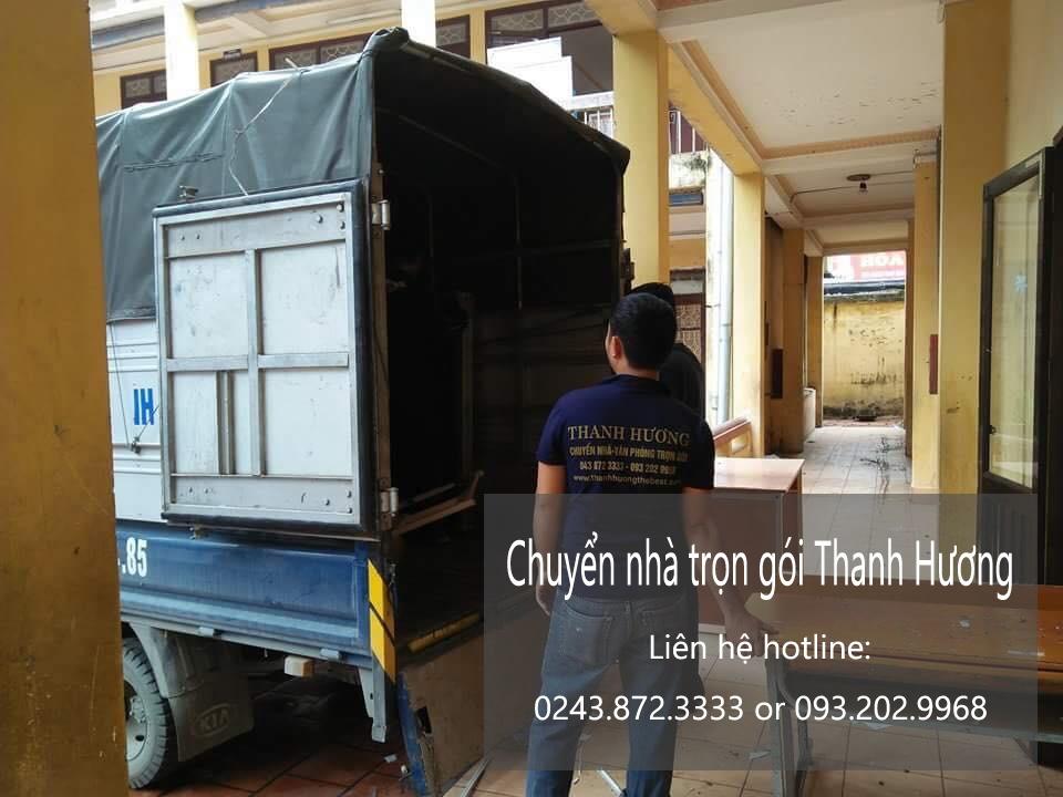 Chuyển văn phòng giá rẻ tại phố Lê Văn Lương