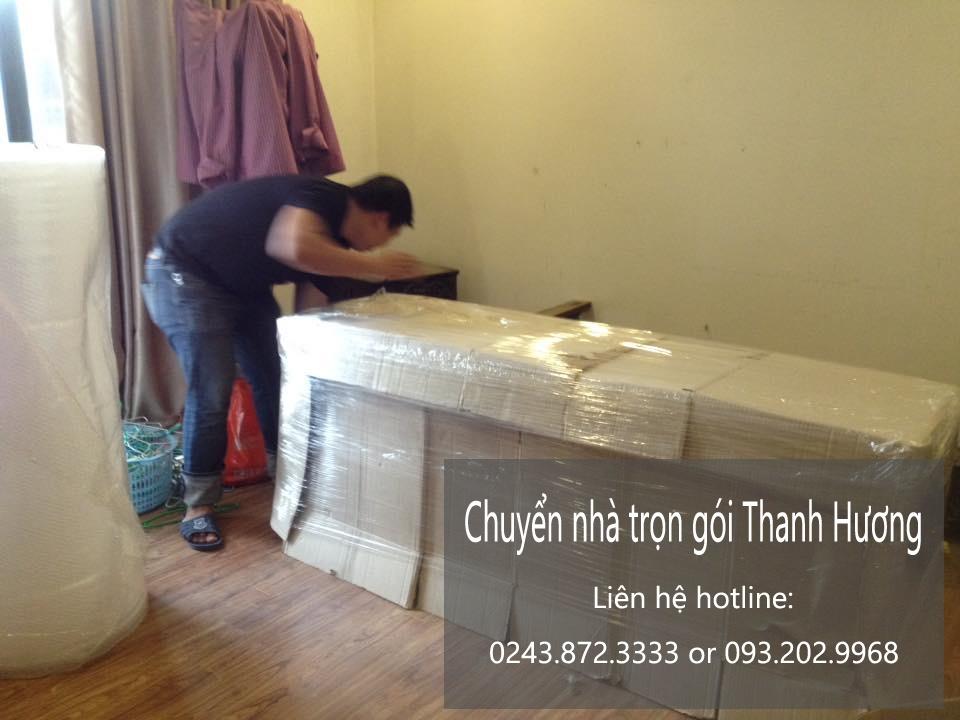 Dịch vụ chuyển văn phòng giá rẻ Thanh Hương tại phố Hoàng Văn Thái