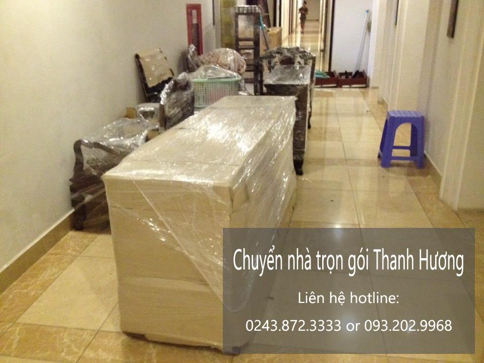 Dịch vụ chuyển văn phòng giá rẻ Thanh Hương tại phố Nhân Hòa