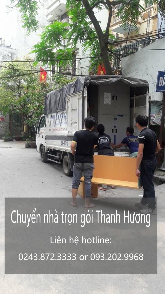 Dịch vụ chuyển văn phòng giá rẻ Thanh Hương tại phố Văn Quán