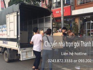 Chuyển văn phòng giá rẻ tại đường Quang Tiến