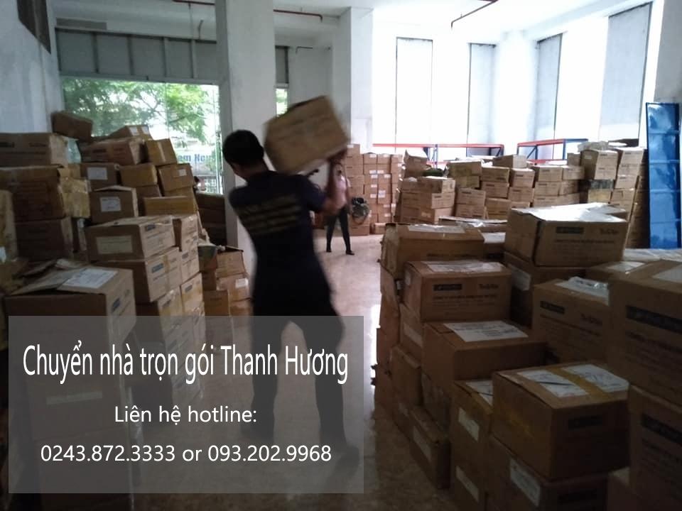 dịch vụ chuyển văn phòng tại phố Viên
