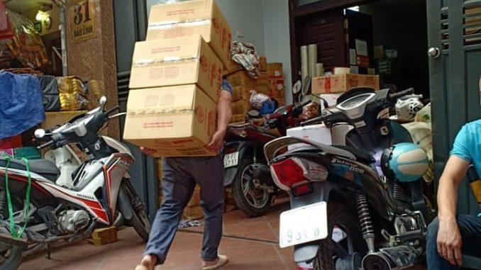 Dịch vụ chuyển văn phòng Thanh Hương tại phố Nhà Hỏa