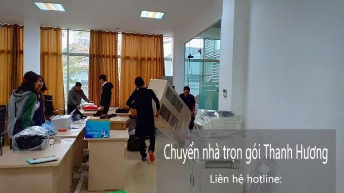 Chuyển văn phòng Thanh Hương tại phố Nguyễn Văn Tố