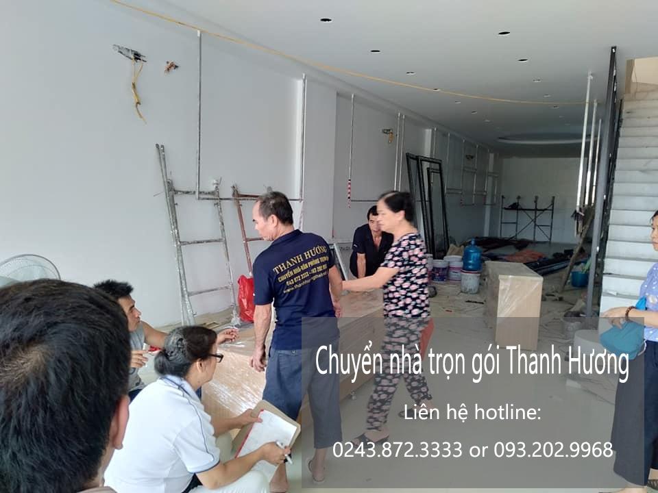Dịch vụ chuyển văn phòng giá rẻ tại phố Tô Ngọc Vân