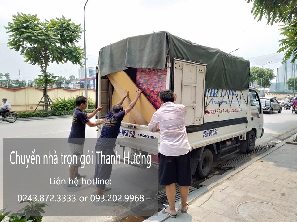 Chuyển văn phòng Thanh Hương tại phố Huế