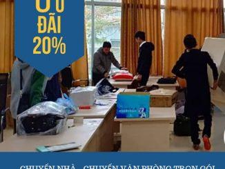 Dịch vụ chuyển văn phòng Thanh Hương tại phố Hàng Chĩnh