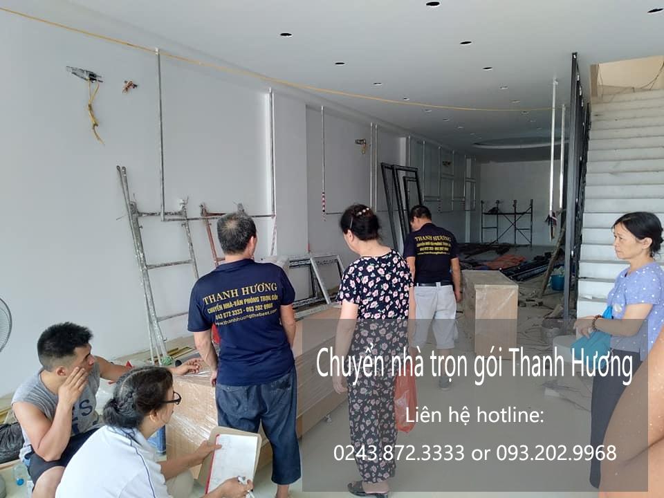 Thanh Hương chuyển văn phòng giá rẻ tại phố Chu Huy Bân