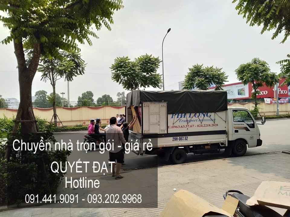 Chuyển văn phòng giá rẻ Thanh Hương tại phố Đức Giang